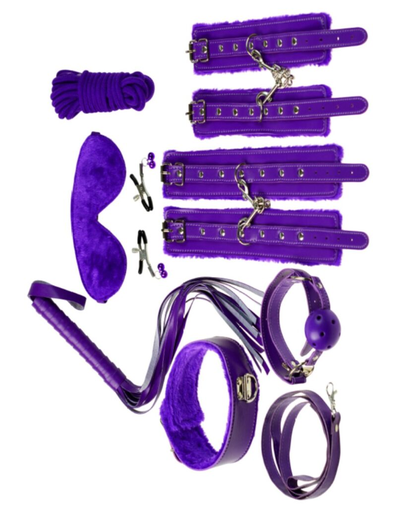 Everything Bondage 9 Piece Beginner's Bondage Kit